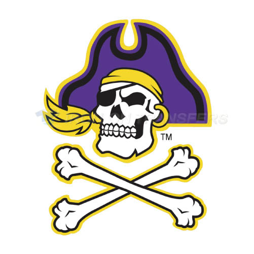 East Carolina Pirates Iron-on Stickers (Heat Transfers)NO.4305